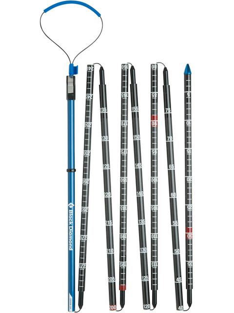 Black Diamond Quickdraw Probe Carbon 320 - Sonda para avalancha - gris/azul